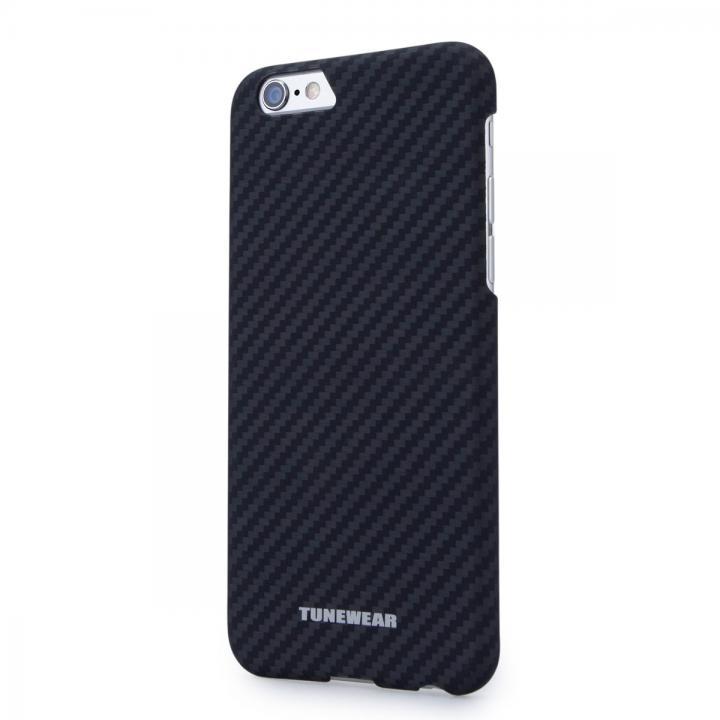 【iPhone6ケース】薄型ケブラーケース TUNEWEAR CarbK ブラック iPhone 6_0