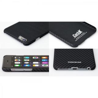 【iPhone6ケース】薄型ケブラーケース TUNEWEAR CarbK ブラック iPhone 6_2