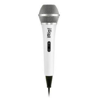 iPhoneでカラオケが楽しめる ハンドヘルド型ボーカル・マイク iRig Voice ホワイト