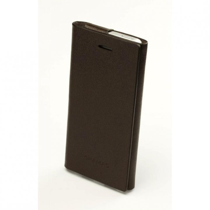 【iPhone SE/5s/5】GRAMAS Leather 手帳型ケース  iPhone 5 LC613C