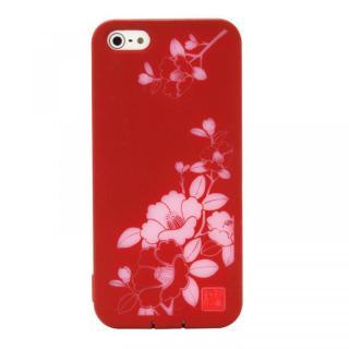 デジタルを彩る和の美 和彩美「ふるる」 透し朱椿 iPhone5ケース