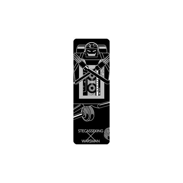 キン肉マン×Gizmobies ステカセキング×ウォーズマン [2500mhA]モバイルバッテリー_0