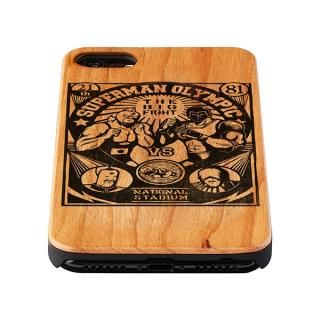 【iPhone8/7/6s/6ケース】キン肉マン×Gizmobies キン肉マンVSウォーズマン ウッドケース iPhone 8/7/6s/6_3