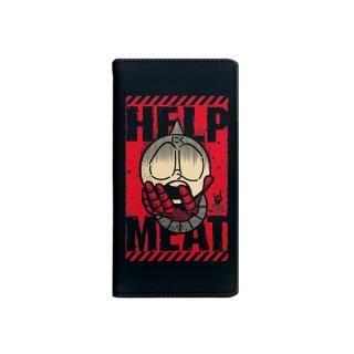 キン肉マン×Gizmobies ミートくんHELP7人の悪魔超人 手帳型ケース iPhone 8/7/6s/6