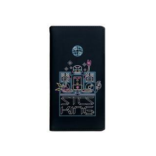 キン肉マン×Gizmobies DJステカセキング 手帳型ケース iPhone 8/7/6s/6