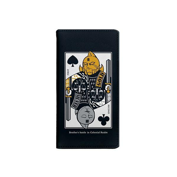 iPhone8/7/6s/6 ケース キン肉マン×Gizmobies 金のマスク銀のマスク 手帳型ケース iPhone 8/7/6s/6_0