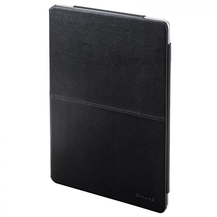 高品質な牛皮革 GRAMAS Leather Case ブラック iPad Air ケース_0