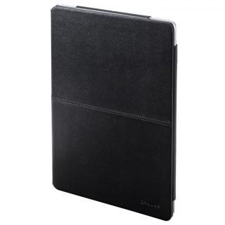 高品質な牛皮革 GRAMAS Leather Case ブラック iPad Air ケース