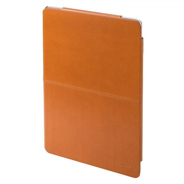 高品質な牛皮革 GRAMAS Leather Case タン iPad Air ケース_0