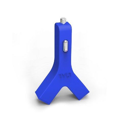 1度に2つ充電 カーチャージャー Y-Charge USB 4.2A グリーン