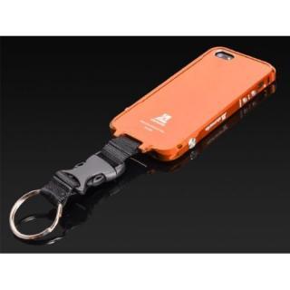【その他のiPhone/iPodケース】EDGE LINE専用アクセサリー センターフックモデル  iPhone5 オレンジ