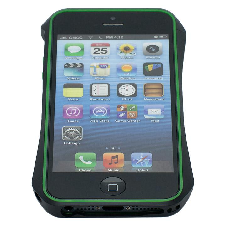 【iPhone SE/5s/5ケース】Cleave Aluminum Bumper  Aero  iPhone SE/5s/5 Dark Night Black_0