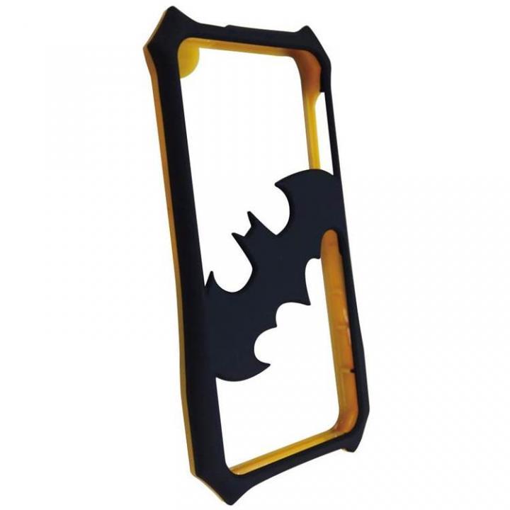 iPhone SE/5s/5 ケース バットマンバンパー ブラック×イエロー iPhone 5s/5バンパー_0