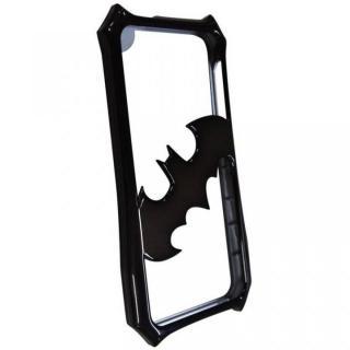iPhone SE/5s/5 ケース バットマンバンパー メタルブラック iPhone 5s/5バンパー