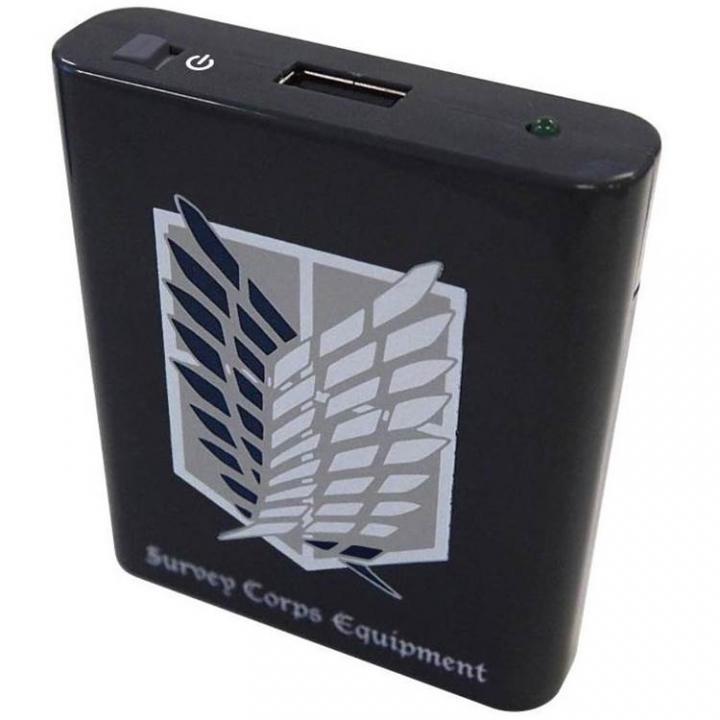 進撃の巨人 USB出力電池式充電器 Bタイプ_0