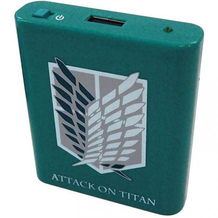 進撃の巨人 USB出力電池式充電器 Aタイプ