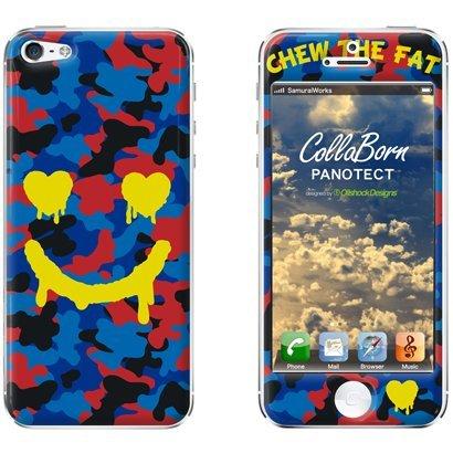 iPhone SE/5s/5 ケース デザインスキンシール Camouflage iPhone 5シール_0