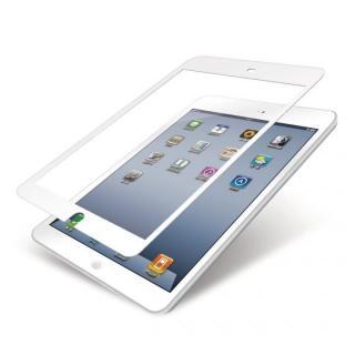 保護フィルム/気泡レス/スムースタッチ/ホワイト iPad mini/2/3フィルム