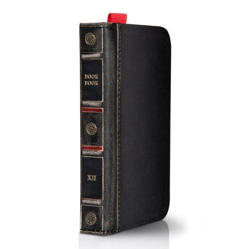 BookBook v2 クラシックブラック iPhone 4s/4 手帳型ケース_0