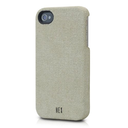 iPhone 4s/4用 HEX CORE Canvas (ウォッシュド・カーキ) HEX-PH-000008_0