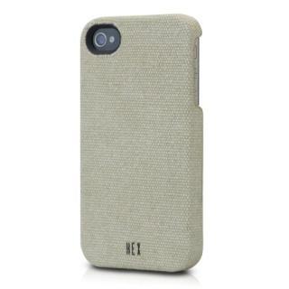 【その他のiPhone/iPodケース】iPhone 4s/4用 HEX CORE Canvas (ウォッシュド・カーキ) HEX-PH-000008