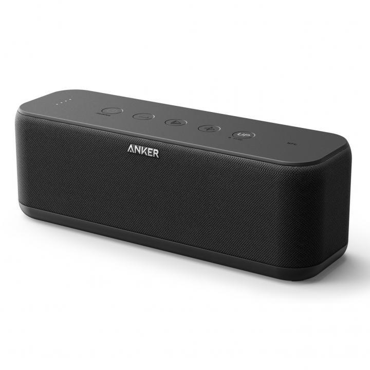 Anker SoundCore Boost IPX5 防水Bluetoothスピーカー ブラック【11月下旬】