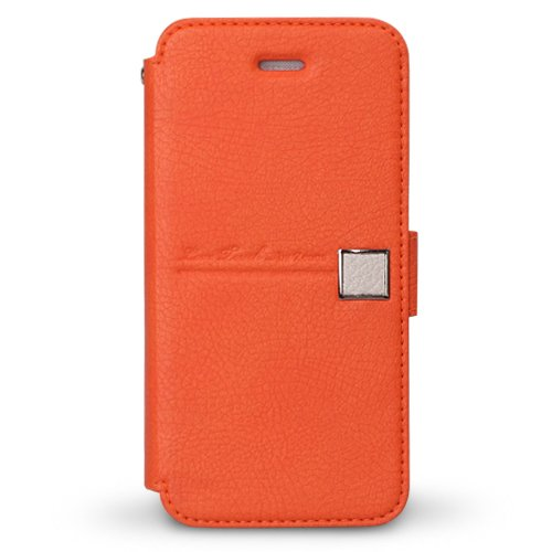 【iPhone SE/5s/5ケース】iPhone5 手帳型ケース Masstige Color Point Diary  Orange_0