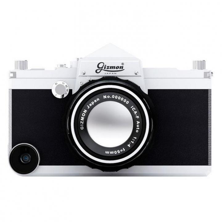一眼レフカメラ風ケース GIZMON iCA5 SLR iPhone SE/5s/5ケース