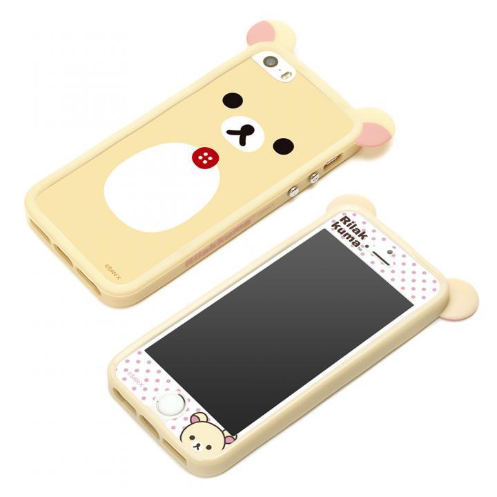 iPhone SE/5s/5 ケース スターティングTPUバンパーセット コリラックマ iPhone SE/5s/5バンパー_0