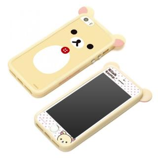 スターティングTPUバンパーセット コリラックマ iPhone SE/5s/5バンパー