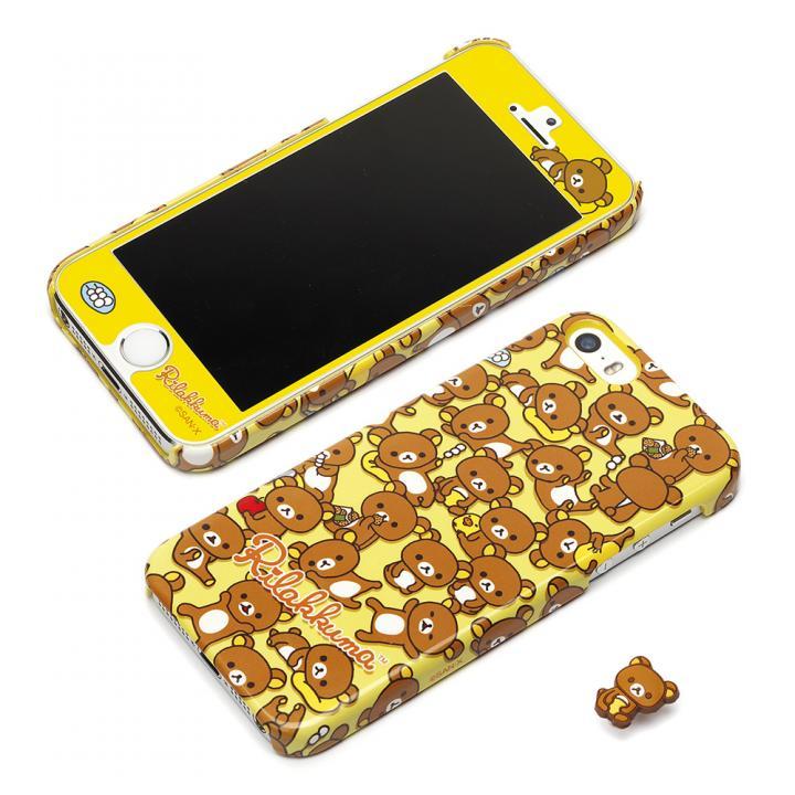 iPhone SE/5s/5 ケース トータルコーディネートできる スターティングハードケースセット リラックマ iPhone SE/5s/5ケース_0