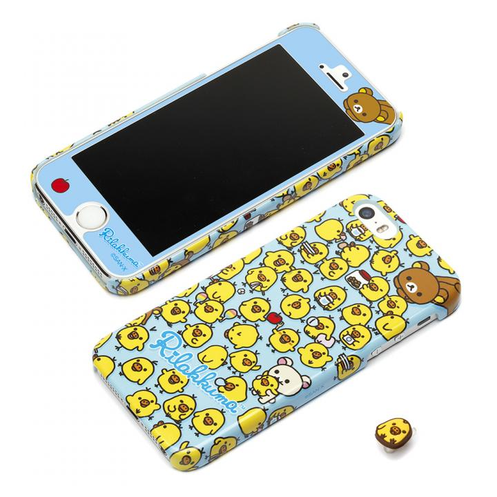 【iPhone SE/5s/5ケース】トータルコーディネートできる スターティングハードケースセット キイロイトリ iPhone SE/5s/5ケース_0