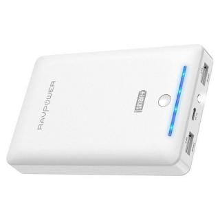 RAVPOWER モバイルバッテリー 大容量 [16750mAh] RP-PB19 ホワイト