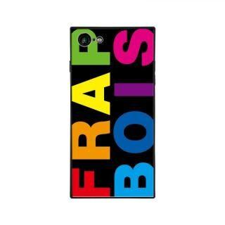 iPhone8/7 ケース FRAPBOIS FRAPBOIS スクエア型 ガラスケース RAINBOW iPhone 8/7【6月下旬】