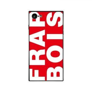 iPhone8/7 ケース FRAPBOIS FRAPBOIS スクエア型 ガラスケース RED iPhone 8/7【10月下旬】