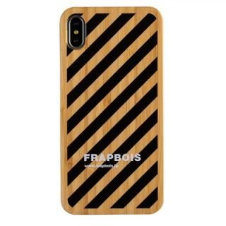 iPhone XS Max ケース FRAPBOIS BAMBOO(竹)ケース STRIPE BLK iPhone XS Max【2月上旬】