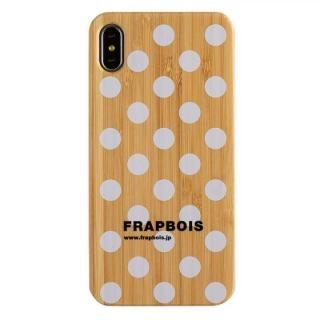 iPhone XS Max ケース FRAPBOIS BAMBOO(竹)ケース DOT WHT iPhone XS Max【11月下旬】