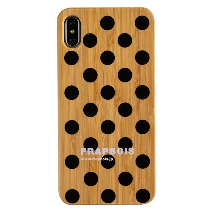 iPhone XS Max ケース FRAPBOIS BAMBOO(竹)ケース DOY BLK iPhone XS Max_0
