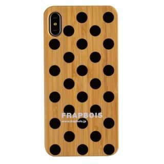 iPhone XS Max ケース FRAPBOIS BAMBOO(竹)ケース DOY BLK iPhone XS Max【10月下旬】