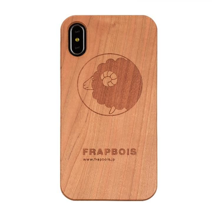 iPhone XS Max ケース FRAPBOIS A SOLID ウッドケース SHEEP iPhone XS Max_0