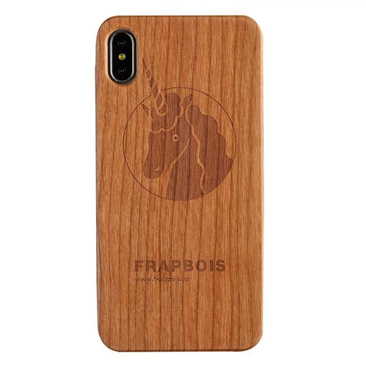 iPhone XS Max ケース FRAPBOIS A SOLID ウッドケース UNICORN iPhone XS Max【9月上旬】_0