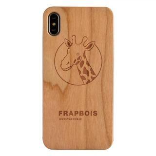 iPhone XS Max ケース FRAPBOIS A SOLID ウッドケース GIRAFFE iPhone XS Max