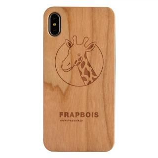 iPhone XS Max ケース FRAPBOIS A SOLID ウッドケース GIRAFFE iPhone XS Max【11月下旬】