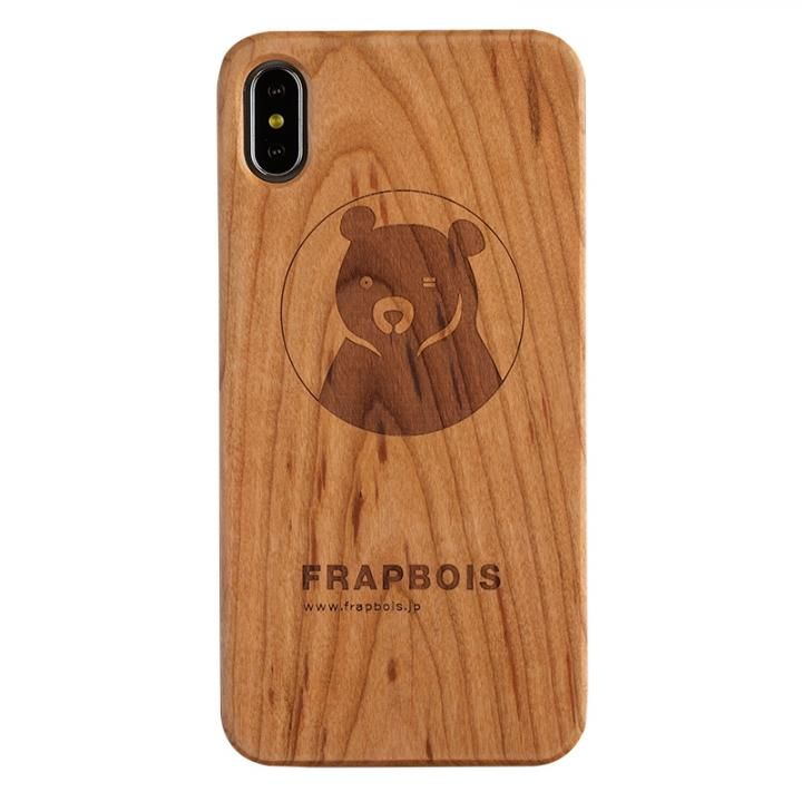iPhone XS Max ケース FRAPBOIS A SOLID ウッドケース BEAR iPhone XS Max_0
