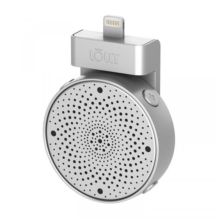 Lightningコネクタ 軽量ポータブルマイク Lolly Digital 3D mic シルバー_0
