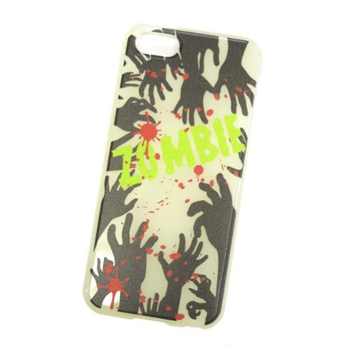 【iPhone SE/5s/5ケース】暗闇で光る 蓄光アイフォンカバー ゾンビ iPhone 5ケース_0