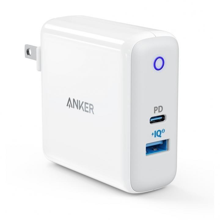Anker PowerPort ll PD USB急速充電器 1ポートPD  1ポートPowerIQ ホワイト_0