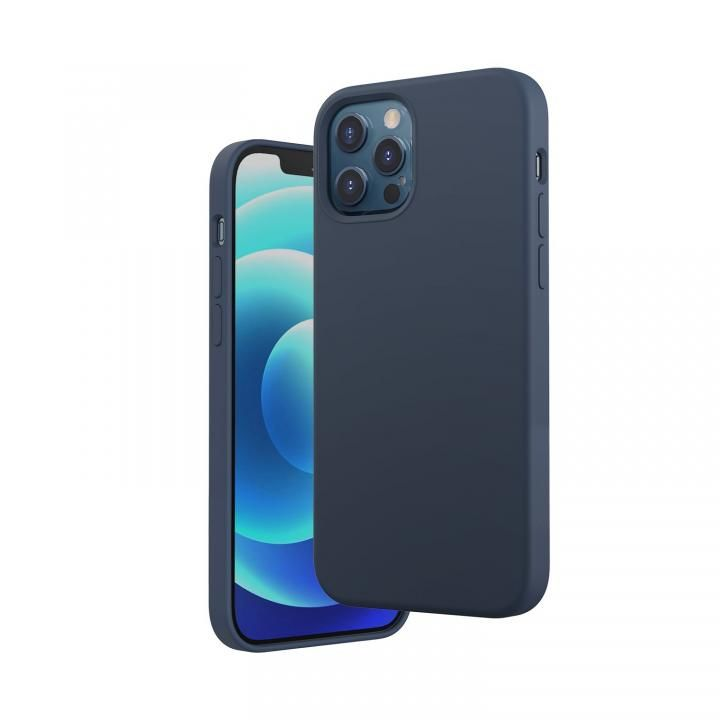 Anker Magnetic Silicone Case ダークブルー iPhone 12 / 12 Pro_0