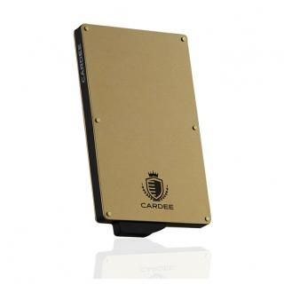 [AppBank先行]カードプロテクターケース「Cardee」 シャンパンゴールド【6月下旬】