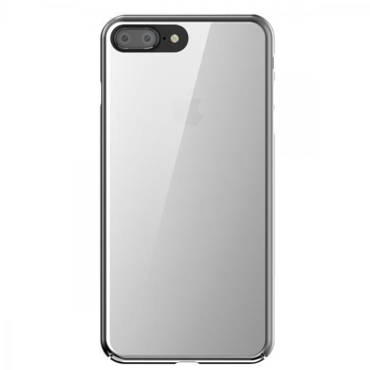 【iPhone7 Plusケース】SwitchEasy NUDE ハードケース シルバー iPhone 7 Plus_0